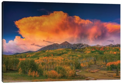 Stormy Rapture Canvas Art Print