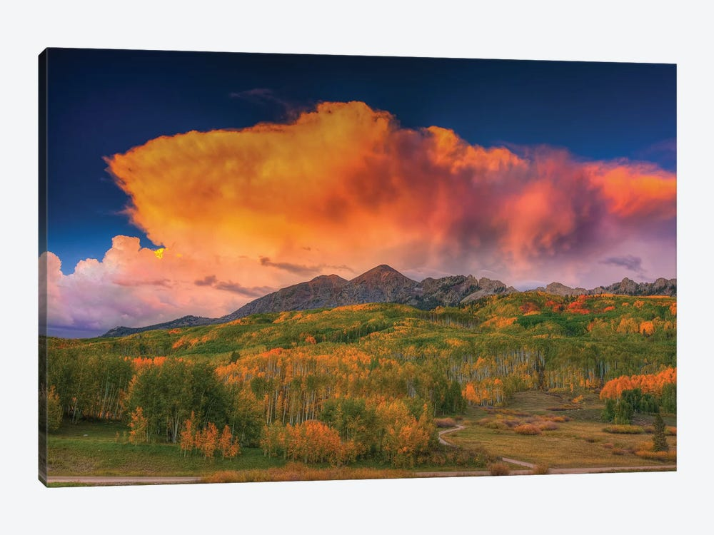 Stormy Rapture by Bill Sherrell 1-piece Canvas Artwork