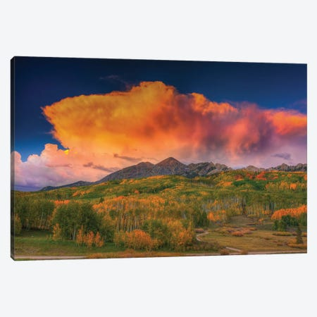 Stormy Rapture Canvas Print #SHL192} by Bill Sherrell Canvas Print