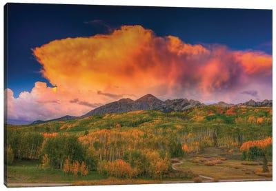 Stormy Rapture Canvas Art Print