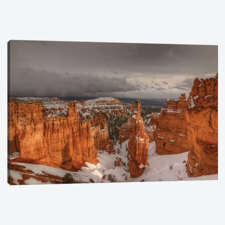 Stormy Sunlight Canvas Print #SHL193} by Bill Sherrell Canvas Print