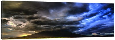 Sudden Storm! Canvas Art Print