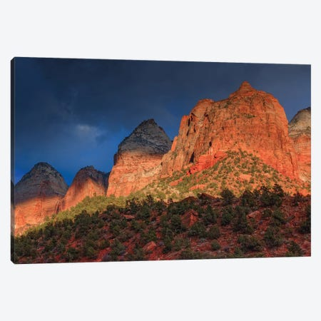Sunlit Sliver Canvas Print #SHL196} by Bill Sherrell Canvas Artwork