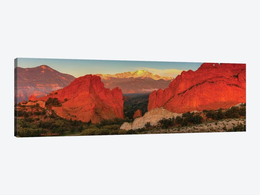 Sunrise At Garden Of The Gods by Bill Sherrell 1-piece Canvas Artwork