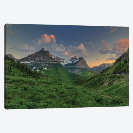 Sunset In Paradise Canvas Print #SHL199} by Bill Sherrell Art Print