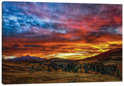 A Sunset To Remember Canvas Art Print