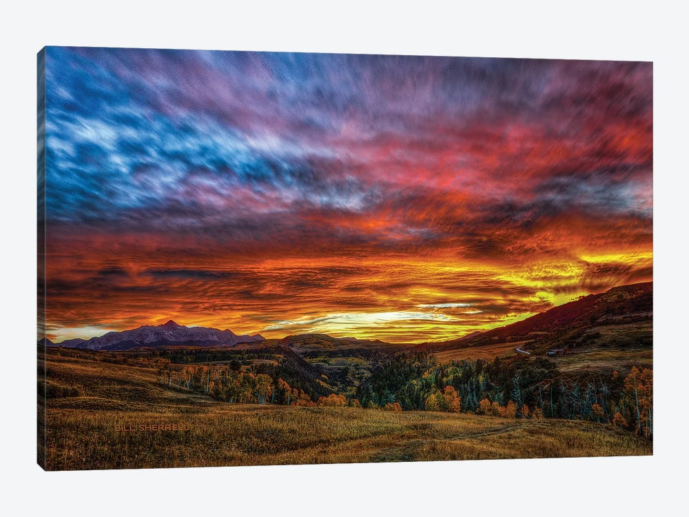 A Sunset To Remember by Bill Sherrell 1-piece Art Print