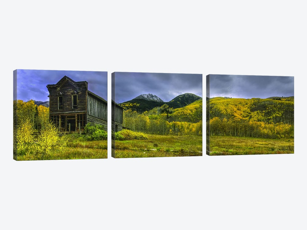 The Ashcroft Hotel by Bill Sherrell 3-piece Art Print