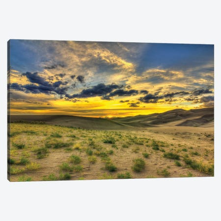 The Edge Of Life Canvas Print #SHL206} by Bill Sherrell Canvas Artwork