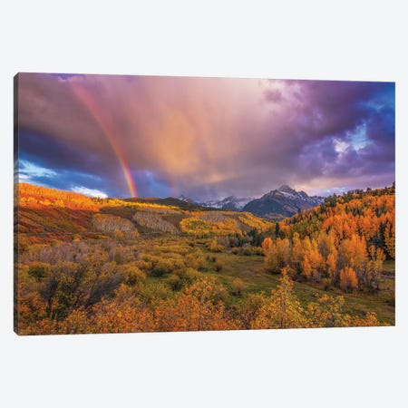 The Real Gold Of Colorado! Canvas Print #SHL212} by Bill Sherrell Canvas Art