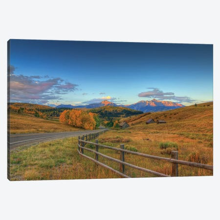 The Rising Of Autumn Canvas Print #SHL214} by Bill Sherrell Canvas Art Print