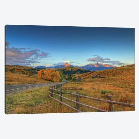 The Rising Of Autumn Canvas Print #SHL214} by Bill Sherrell Canvas Art Print