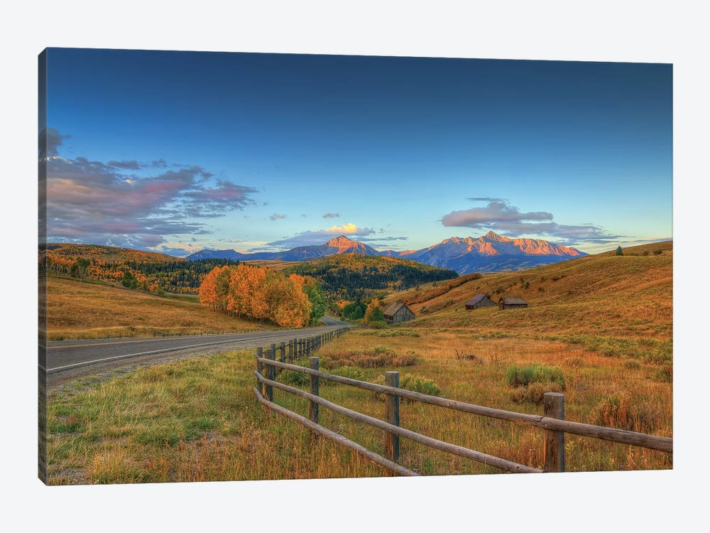 The Rising Of Autumn by Bill Sherrell 1-piece Canvas Wall Art