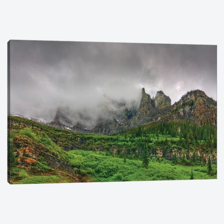 The Unveiling Of Majesty Canvas Print #SHL217} by Bill Sherrell Canvas Art Print