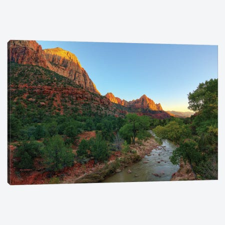 The Valley Of Majesty Canvas Print #SHL218} by Bill Sherrell Canvas Art