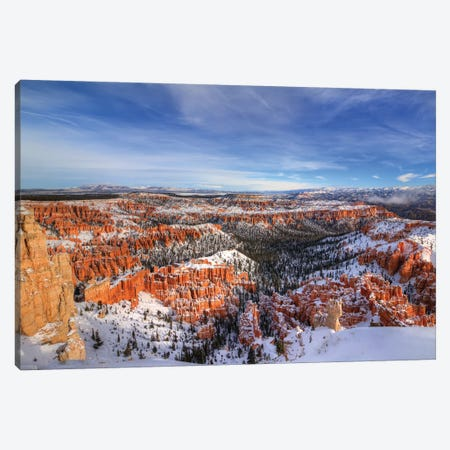Transformation At Bryce Canyon Canvas Print #SHL221} by Bill Sherrell Canvas Print