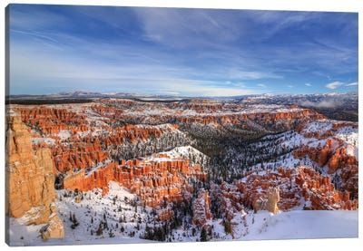 Transformation At Bryce Canyon Canvas Art Print