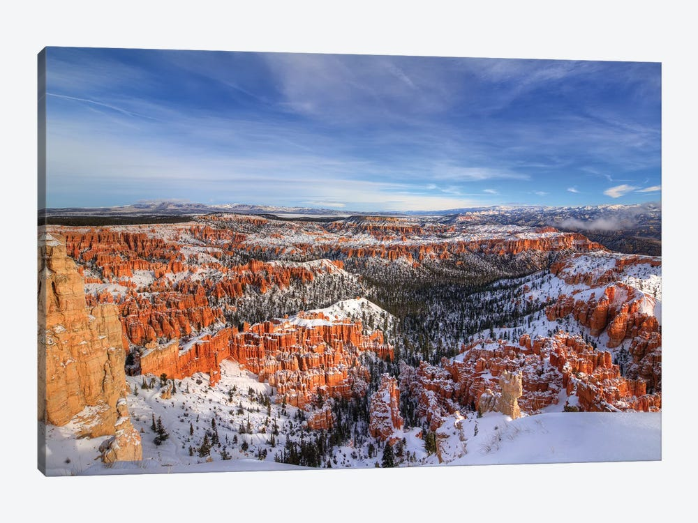 Transformation At Bryce Canyon by Bill Sherrell 1-piece Canvas Wall Art