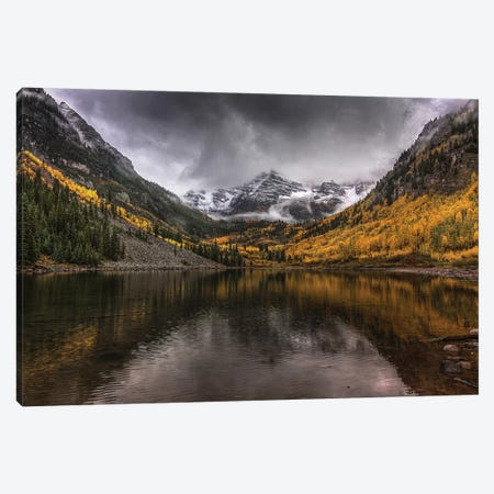 Violent Autumn Canvas Print #SHL226} by Bill Sherrell Canvas Wall Art