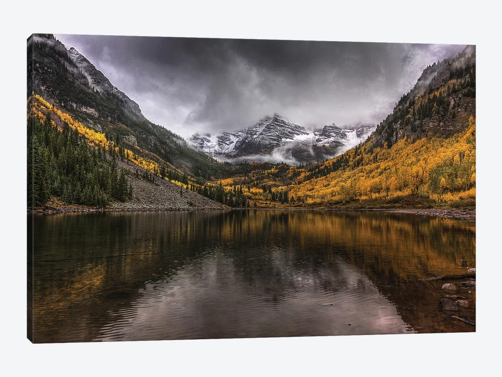 Violent Autumn by Bill Sherrell 1-piece Art Print