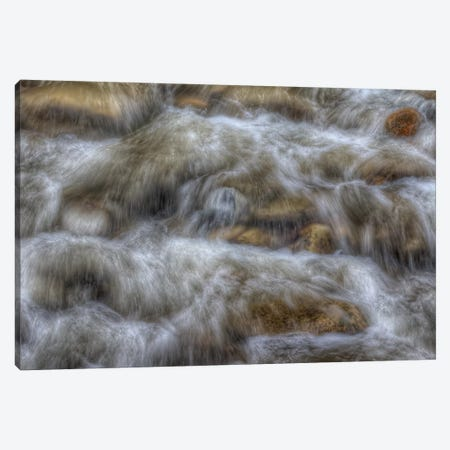 Water Rush Canvas Print #SHL227} by Bill Sherrell Canvas Art