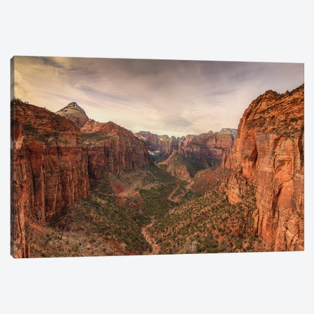 Zion Majesty Canvas Print #SHL241} by Bill Sherrell Canvas Print