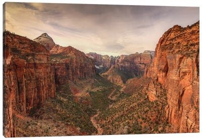 Zion Majesty Canvas Art Print