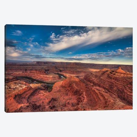 Dead Horse Canyon-Utah III Canvas Print #SHL280} by Bill Sherrell Art Print