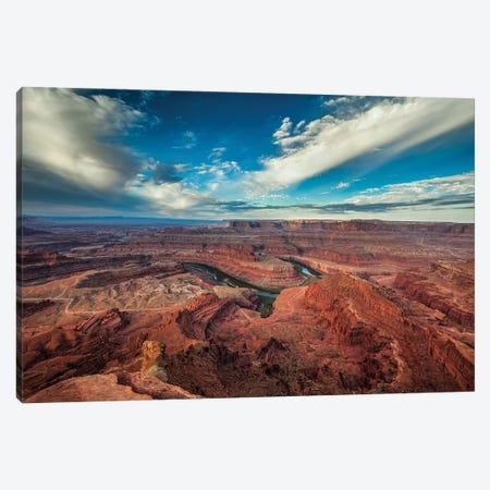 Dead Horse Canyon-Utah IV Canvas Print #SHL281} by Bill Sherrell Canvas Art Print