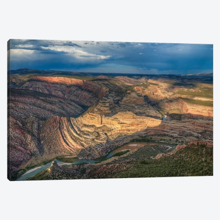 Dinosaur National Park-Colorado Canvas Print #SHL283} by Bill Sherrell Art Print
