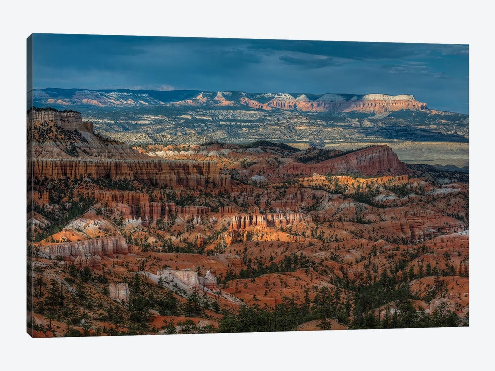 Pockets Of Light At Bryce Canyon by Bill Sherrell 1-piece Canvas Artwork