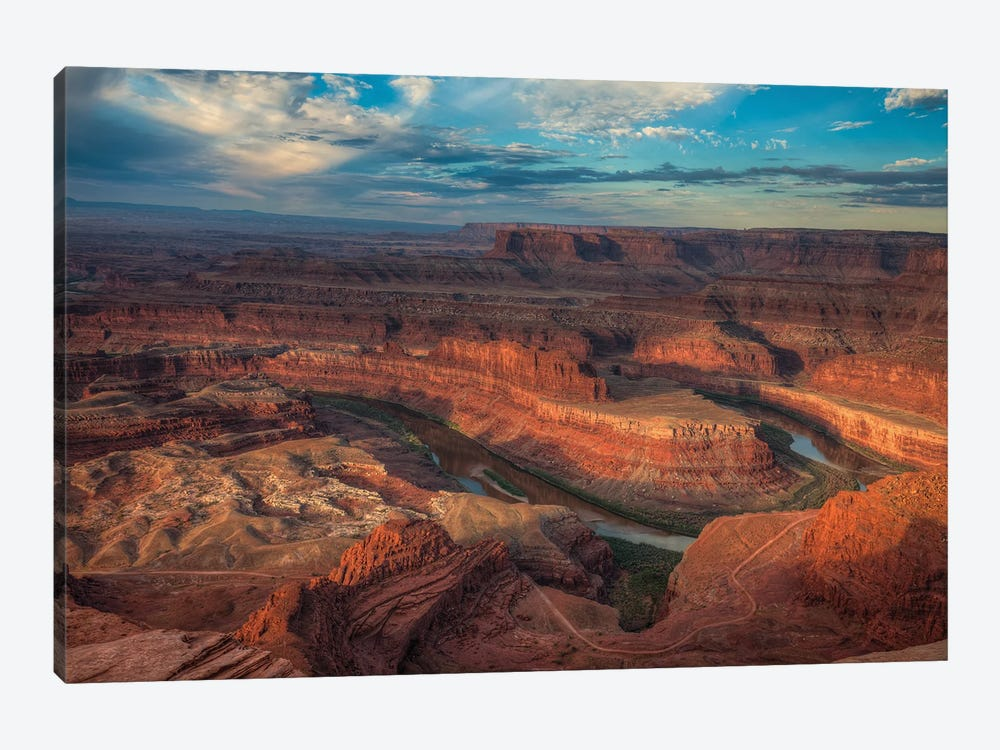 Sunrise Over Dead Horse Canyon V by Bill Sherrell 1-piece Canvas Art