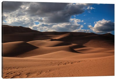 The Great Dunes In Colorado Canvas Art Print