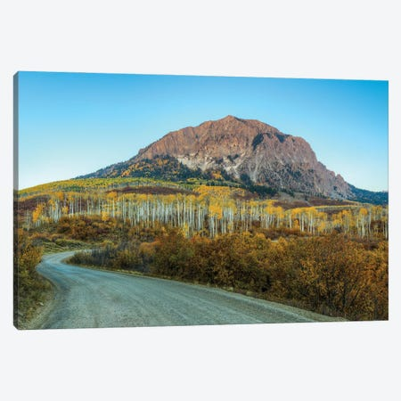 Autumn On Marcelina Mountain Canvas Print #SHL312} by Bill Sherrell Canvas Art Print