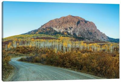 Autumn On Marcelina Mountain Canvas Art Print