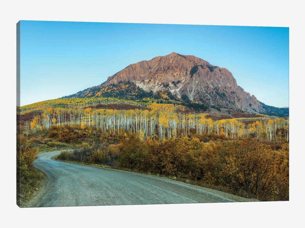 Autumn On Marcelina Mountain by Bill Sherrell 1-piece Canvas Art Print