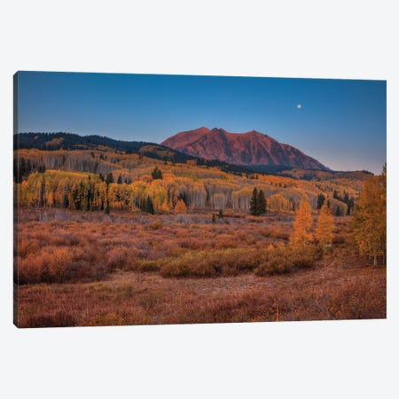 East Beckwith Mountain-Colorado Canvas Print #SHL321} by Bill Sherrell Canvas Artwork