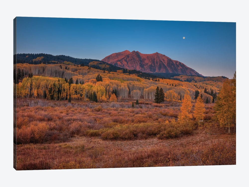 East Beckwith Mountain-Colorado by Bill Sherrell 1-piece Canvas Art Print