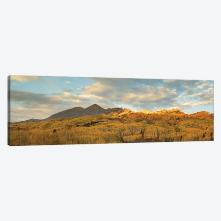 Witness To A Grand Finale Canvas Print #SHL339} by Bill Sherrell Canvas Art Print