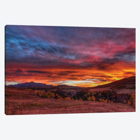 Captivated By The Light Canvas Print #SHL356} by Bill Sherrell Canvas Artwork