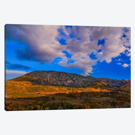 Autumn In Telluride Canvas Print #SHL49} by Bill Sherrell Canvas Artwork