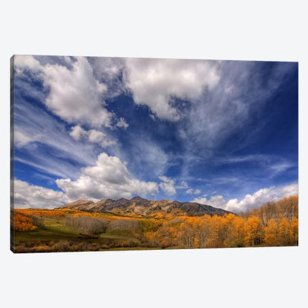 Autumn Vista Canvas Print #SHL60} by Bill Sherrell Canvas Artwork