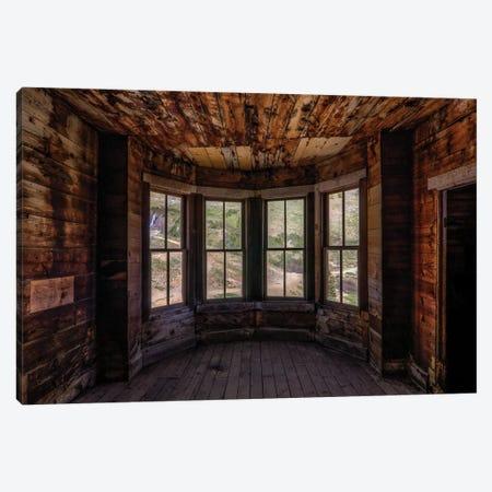 Bay Window Canvas Print #SHL65} by Bill Sherrell Canvas Art Print