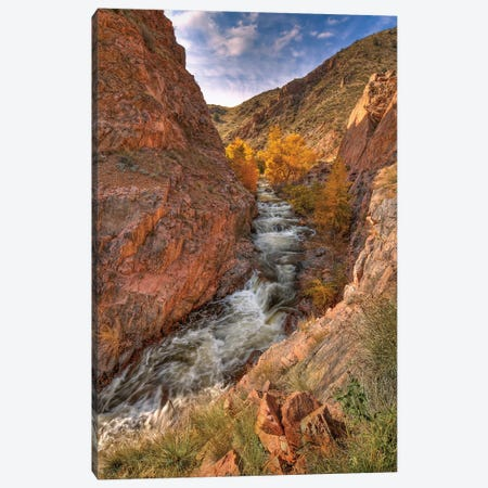 Canyon Of Dreams Canvas Print #SHL74} by Bill Sherrell Canvas Art