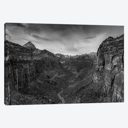 Canyon Walls Canvas Print #SHL75} by Bill Sherrell Canvas Art