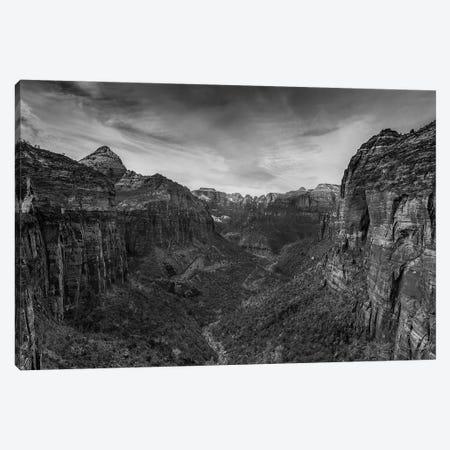 Canyon Walls Canvas Print #SHL75} by Bill Sherrell Canvas Art