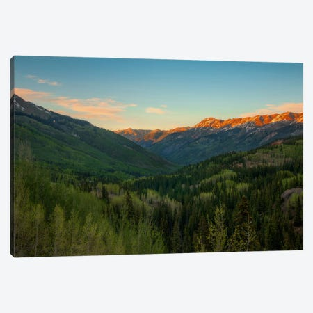 A Million Dollar View Canvas Print #SHL8} by Bill Sherrell Canvas Art