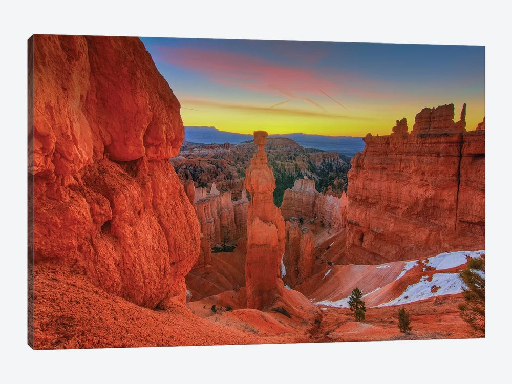 Dawn Over Thor's Hammer by Bill Sherrell 1-piece Canvas Art