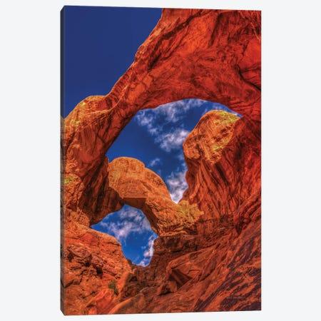 Double Arch Canvas Print #SHL94} by Bill Sherrell Canvas Artwork