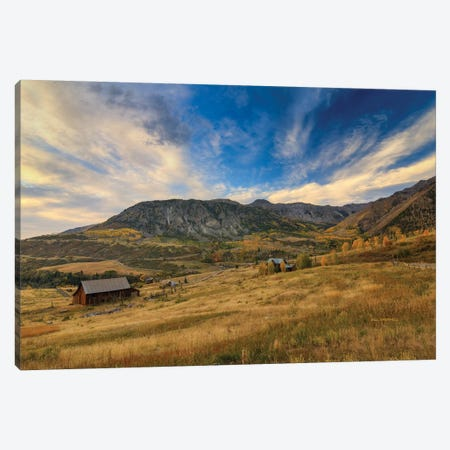 Dusk At Deep Creek Mesa Canvas Print #SHL96} by Bill Sherrell Canvas Artwork